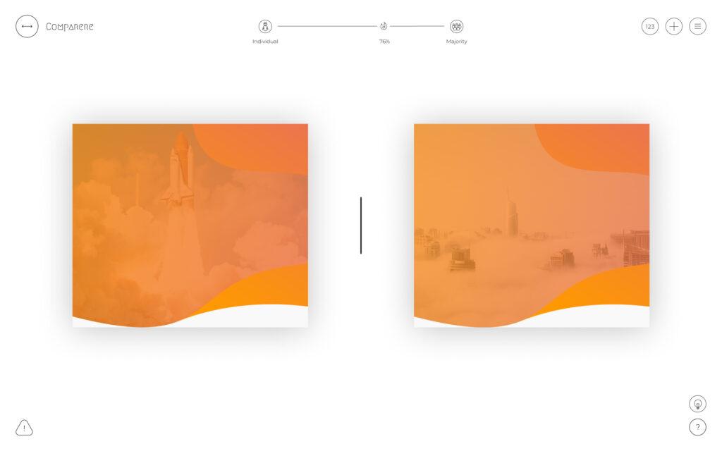 Comparere - aplikacja do badania designu